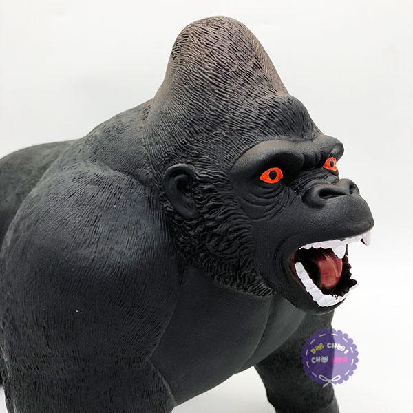 Đồ chơi mô hình khỉ king kong bằng nhựa mềm dùng pin