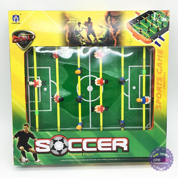 Hộp đồ chơi đá banh bàn 11 người Soccer