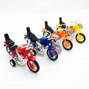 Đồ chơi xe mô tô mini bằng nhựa chạy trớn 668K