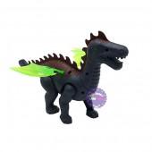 Hộp đồ chơi khủng long có cánh chạy pin có đèn nhạc