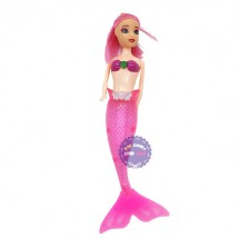 Đồ chơi búp bê nàng tiên cá mini có đèn