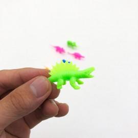Bộ 6 con khủng long, thú rừng bằng nhựa mini nhiều màu (random mẫu)