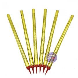 Bộ 6 cây pháo bông phụt sinh nhật pháo xì gà 30cm