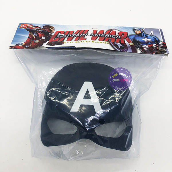 Đồ chơi mặt nạ Captain America bằng nhựa 712-1