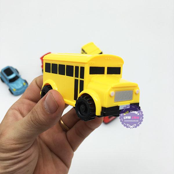 Hộp đồ chơi xe ô tô cảm ứng chạy theo nét bút vẽ (kèm bút + Pin)