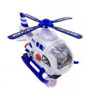 Hộp đồ chơi máy bay trực thăng cảnh sát chạy pin có đèn nhạc
