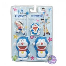 Vỉ đồ chơi 2 bộ đàm cầm tay Doraemon dùng pin