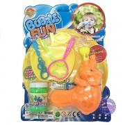Vỉ đồ chơi súng thổi bong bóng xà phòng hình chú voi