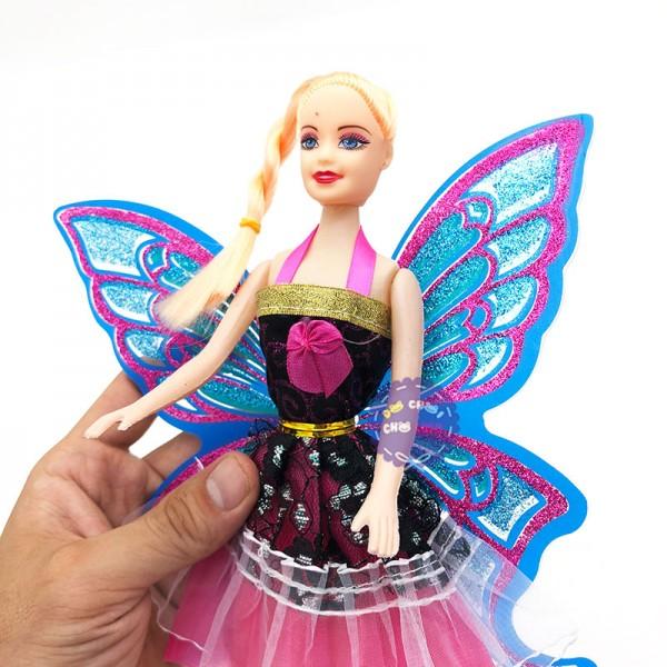 Đồ chơi búp bê cánh bướm và cây trượng 801B