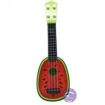 Đồ chơi đàn guitar dưa hấu bằng nhựa dây cước