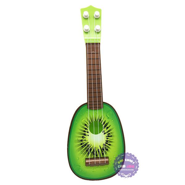 Đồ chơi đàn guitar kiwi bằng nhựa dây cước
