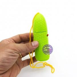 Đồ chơi quạt cầm tay hình trái bắp ngô dùng pin 868B