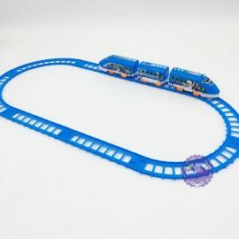 Hộp đồ chơi đường ray xe lửa tàu hỏa Frozen chạy pin