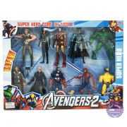 Hộp đồ chơi mô hình 10 siêu anh hùng Avengers có đèn