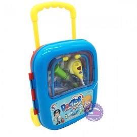 Đồ chơi vali kéo đồ nghề bác sĩ dùng pin nhạc đèn