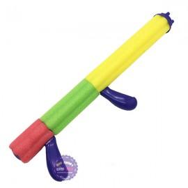Đồ chơi ống mút xốp thụt nước 1 nòng 2 tay cầm
