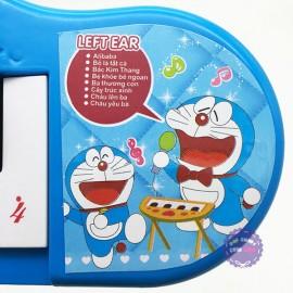 Đàn chơi đàn Organ Doraemon tiếng Việt dùng pin bằng nhựa