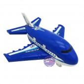Đồ chơi mô hình máy bay chở khách mini bằng nhựa chạy trớn