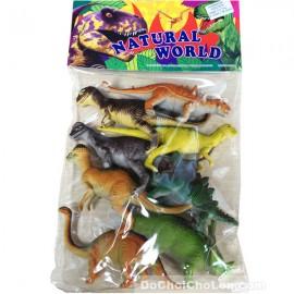 Bộ đồ chơi 8 chú khủng long bằng nhựa Natural World