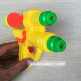 Đồ chơi súng bắn nước 2 nòng, 2 bình nước dự trữ nhỏ