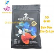 Thức ăn Pandora Black cho cá 7 màu Guppy gói 50g