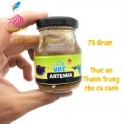 Artemia UHT - Thức ăn thanh trùng cho cá cảnh 75G