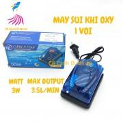 Máy sục sủi khí oxy 1 vòi 3W VIPSUN VS-248A cho hồ cá
