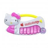 Đồ chơi đàn organ Hello Kitty cầm tay dùng pin