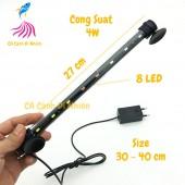 Đèn LED CAIBAO T4-30LED nhiều màu cho hồ cá size 30 - 40 cm