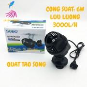 Quạt máy thổi luồng, tạo sóng 1 đầu cho hồ cá SOBO WP-100M 6W