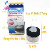Lọc sủi vi sinh Mini 2 tầng Xy-168 cho hồ cá cảnh