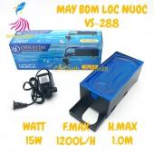 Bộ máy bơm + hộp lọc nước VIPSUN VS-288 cho hồ cá cảnh