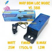 Bộ máy bơm + hộp lọc nước VIPSUN VS-388 cho hồ cá cảnh