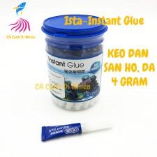 Keo dán san hô, đá 4 Gram Ista-Instant Glue cho hồ thủy sinh