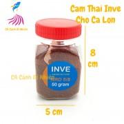 Thức ăn cho cá cảnh - Cám Thái INVE NRD 5/8 - 50 gram