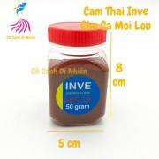 Thức ăn cho cá cảnh - Cám Thái INVE NRD 3/5 - 50 gram