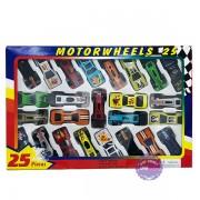 Hộp đồ chơi các loại xe hơi ô tô bằng sắt 25 chiếc 92753-25
