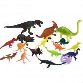 Bộ đồ chơi 16 loài khủng long bằng nhựa Dinosaur World