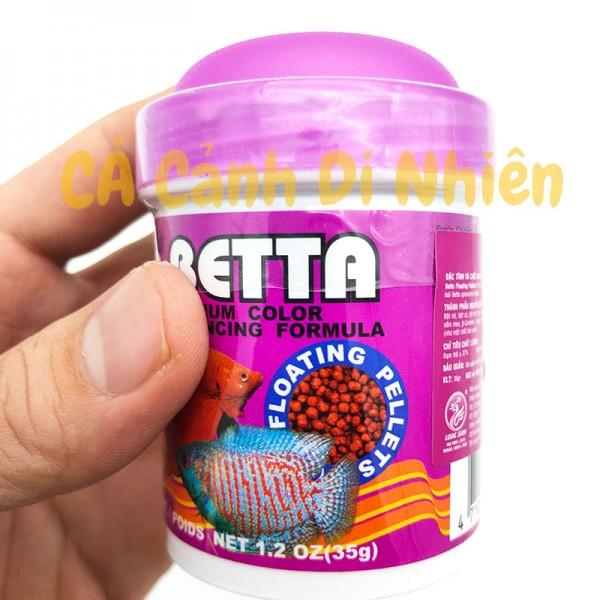 Thức ăn cho cá Betta Pro's Choice dạng hạt lọ TÍM 35 Gram
