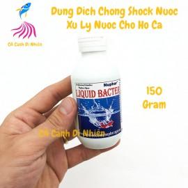 Nuphar Liquid Bacter dung dịch chống sốc xử lý nước cho hồ cá