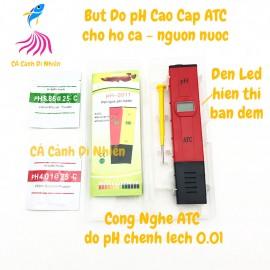 Bút đo pH ATC cao cấp Blacklight Display tách kim loại cho hồ cá pH-2011