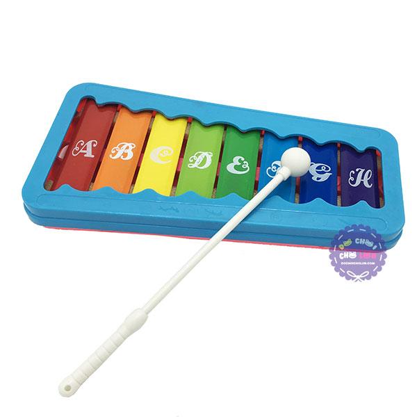 Đồ chơi đàn gõ Xylophone 8 thanh bằng sắt