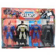 Vỉ đồ chơi 4 siêu anh hùng Super Heroes dùng pin có đèn 945A