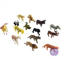 Bộ đồ chơi các loài thú rừng 14 con bằng nhựa Animal Kingdom