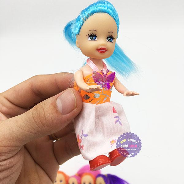Bộ đồ chơi 6 bé búp bê baby bằng nhựa