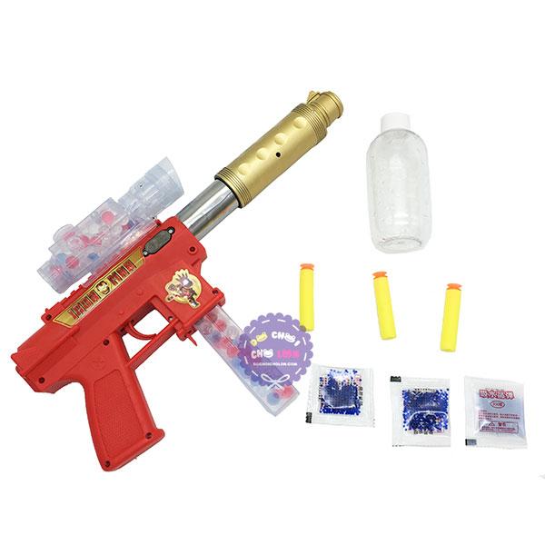 Hộp đồ chơi súng shotgun bắn đạn xốp đạn nước người sắt