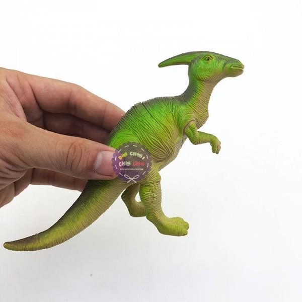 Mô hình khủng long ăn cỏ CHÍT Parasaurolophus bằng nhựa