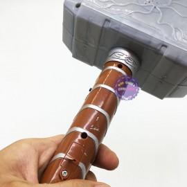 Đồ chơi búa Thor Avengers bằng nhựa có đèn nhạc AD2962