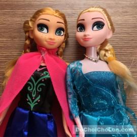 Bộ đồ chơi búp bê nữ hoàng băng giá Frozen: Elsa và Anna