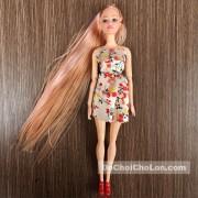 Đồ chơi búp bê gái tóc dài 11 khớp nối